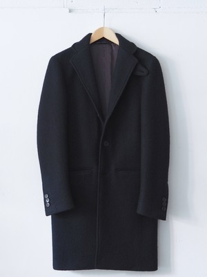 FUJITO Chester Coat  Black