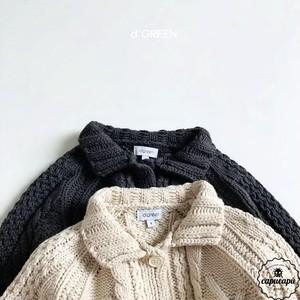 «sold out» knit cardigan 2colors ケーブルニットカーディガン