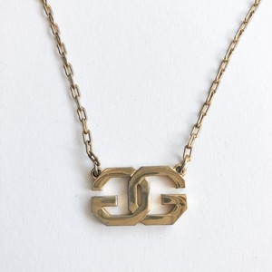 """GIVENCHY"" gold necklace[n-] ヴィンテージネックレス"
