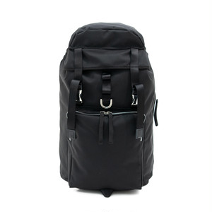 Ballistic Square Pocket Backpack Black LO-STN-BP06