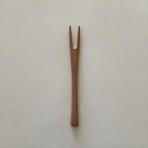 アプリコット木製ミニフォーク