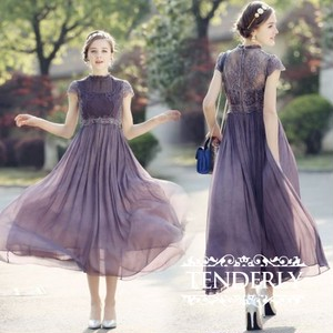 【即納・国内在庫】Long Dress tdl064a
