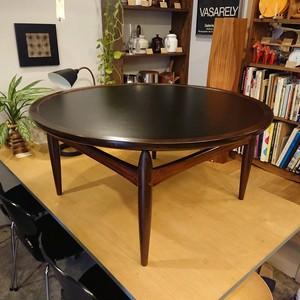 60's Denmark Ludvig Pontoppidan reversible top coffee table 北欧ヴィンテージ