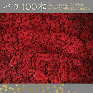 【残1】バラ100本セット(8月9日~8月13日発送)農家直・送料込