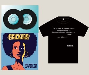 【THE SLACKERS 先着特典Tシャツセット】『Soulcrap : THE SLACKERS』PARKING LOT RENDEzVOUS Vol.3 + 『The Way Of A Woman 』  (輸入盤7インチ)