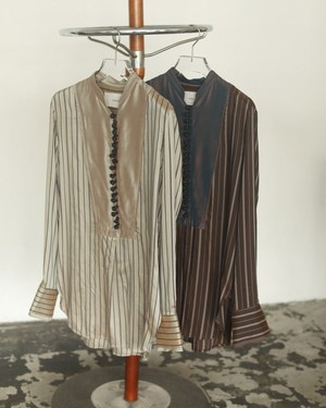 Silk Stripe Shirts
