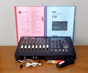 DIGITAL RECORDDING SUTDIO KORG D8 録音・編集良好・完動品