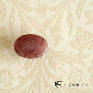天然石の帯留 ◎モスコバイト(白雲母)/A