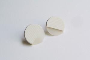 ○SEER PIERCE / EARRING【WHITE】