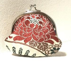 【紅菊の花火】がま口コインケース