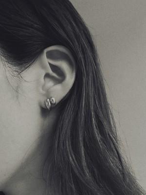 bamboo leaf pierce/earring