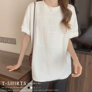 【即納】立体ロゴtシャツ |fa2259