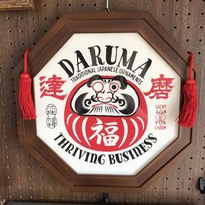 達磨 / DARUMA 八角額入りポスター