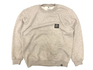 EMBROIDERY BOX LOGO CREWNECK SWEAT / THUMPERS