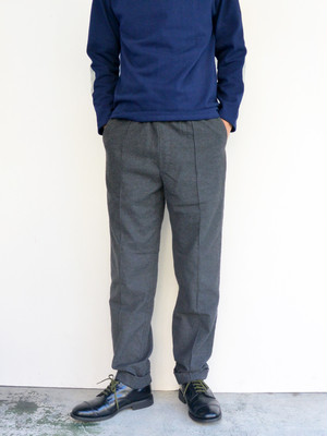 MANUAL ALPHABET(マニュアルアルファベット) DAILY WORKER TROUSERS GREY MA-P-118