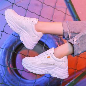 【シューズ】INS韓国系運動靴あわせやすいコーデ学生bfスニーカー