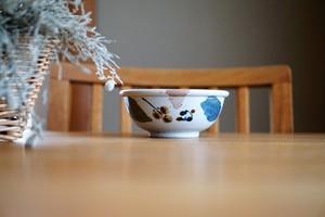 砥部焼/玉縁鉢/木の葉/森陶房