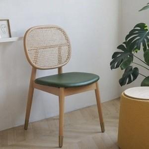 rattan around chair 3colors / おしゃれなカラー ラタン アラウンド チェア 椅子 韓国 北欧