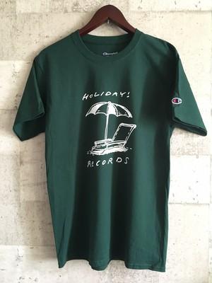 パラソルロゴTシャツ チャンピオン製 (グリーン)