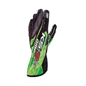 KK02748274 KS-2 ART GLOVES Black/fluo green
