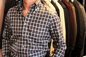CADETTO ORIGINALS SHIRTS Monti Check Button-down