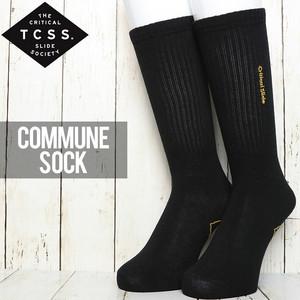 [クリックポスト対応] TCSS ティーシーエスエス COMMUNE SOCK ソックス 靴下 SK1812
