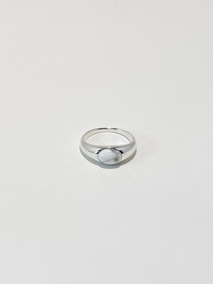 <在庫分にて販売終了>gem round ring -magnesite-(再入荷)