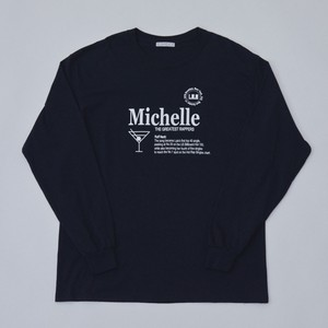 Michelle Long Sleeve T(BLACK)
