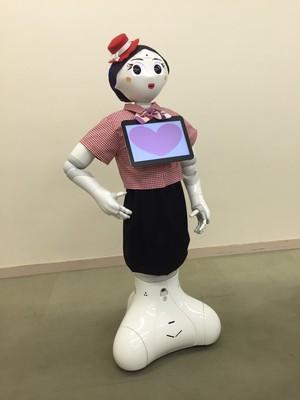 ロボット☆ファッション☆制服☆シャツとスカート☆Pepper向け PSF16-001