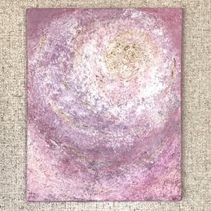 絵画(アクリル画) Pink Lotas(ピンクロータス)