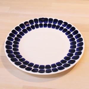 ARABIA(アラビア)24h TUOKIO(トゥオキオ) プレート 21cm コバルトブルー 大皿 食器 北欧 AR-006
