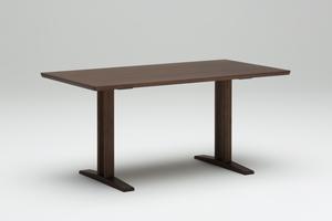【カリモク60】ダイニングテーブルT1500(2本脚)モカブラウン