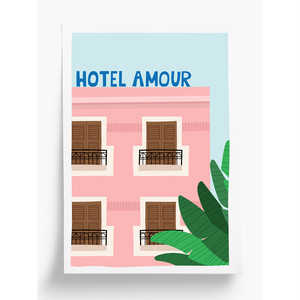 Taxi Brousse - Poster - HOTEL AMOUR (A4)