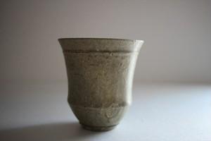 小林耶摩人(恵山)|カップ(大)灰釉