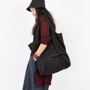 Handbag Bag Casual Vintage Tote Bag Large Capacity Canvas Bag コットン カジュアル プリーツ トートバッグ ハンドバッグ ビンテージ (YYB99-4554884)