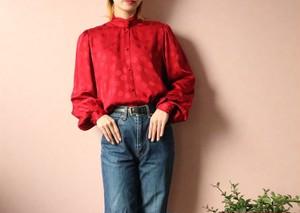 GIVENCHY silk dots blouse