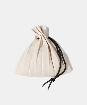 UNDECORATED OG CO PLEATS BAG Cream UDS21903