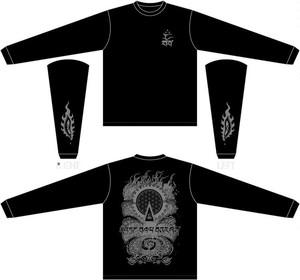 "LDD Long Sleeve T-shirts ""tantra""BLK x BRZ ver."