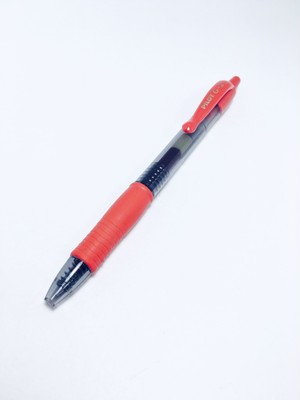 PILOT G2 Assorted Colors Gel Pen Red
