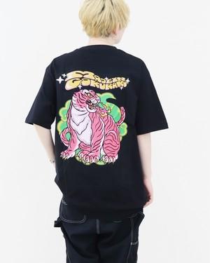 【unisex】 MAID in 極楽 T-shirt【black】