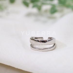 《送料無料・silver925》2connection ring【85584RE40】