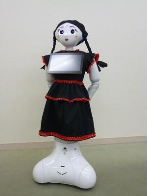ロボット☆ファッション☆ワンピース☆Pepper向け PWP16-001