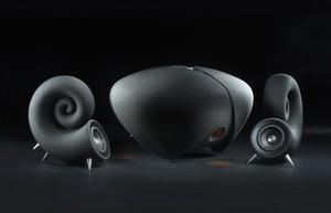 DEEPTIME IONICサウンドシステム (漆黒色) - 2.1chオーディオシステム