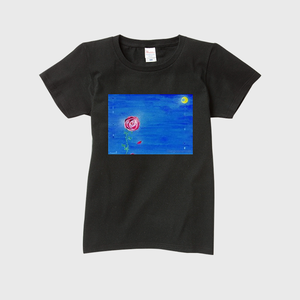 「時をもう少し」レディースTシャツ