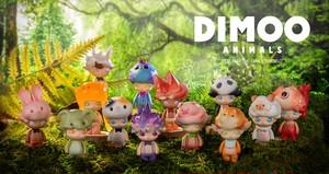 DIMOO(ディムー) はぐれ動物たちシリーズ【1個】[POPMART]