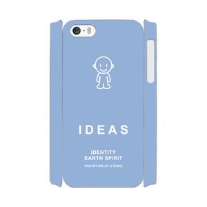 IDEAS/iPhone5/5s/SEケース 800-ブルー