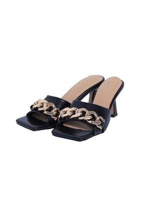 Gold chain sandals 4/22ch-5