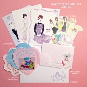Happy paper mix set