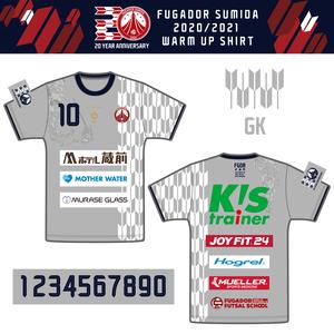 【受注生産】フウガドールすみだ2020 アップシャツ(GK)