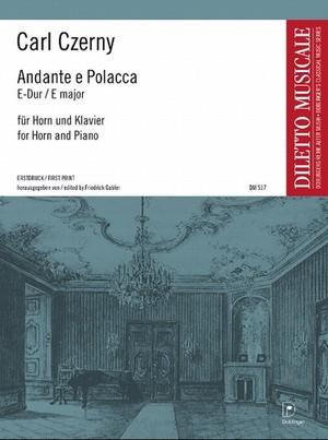 ツェルニー:アンダンテとポラッカ/ホルン・ピアノ